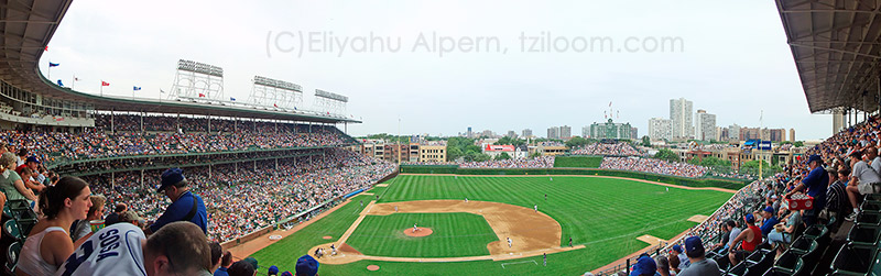 Wrigely                     Field, Chicago